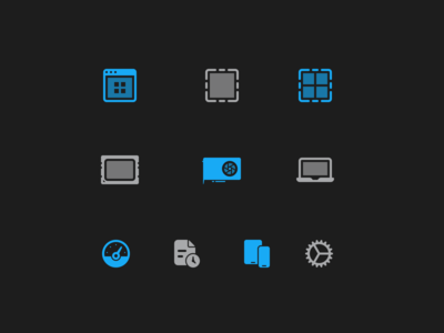 Geekbench 5 UI Icons