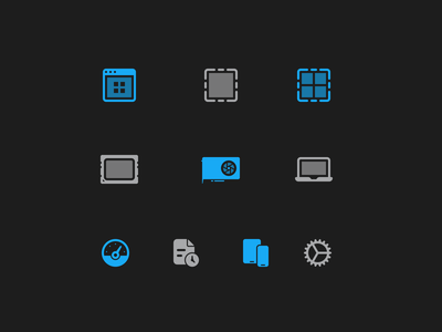Geekbench 5 UI Icons primate labs ui icons icons macos app macos geekbench