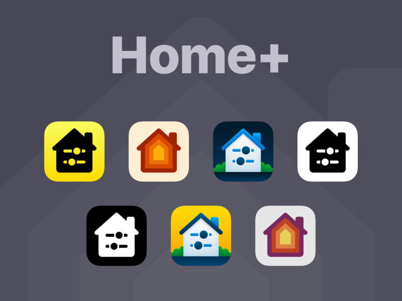 Home+ App Icons