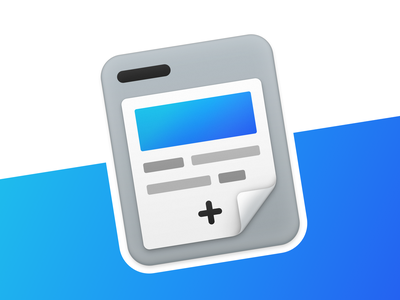Project Management App Icon macos icon icon app icon macos