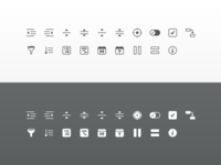 SheetPlanner Toolbar Icons