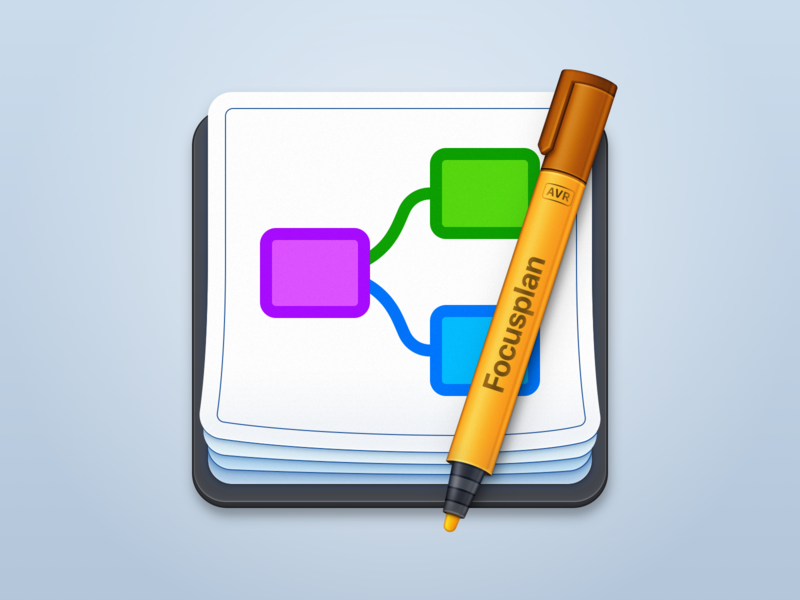 Focusplan App Icon app icons macosx mac app icon app icon mac app macos focusplan