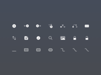 Focusplan Toolbar and UI Icons