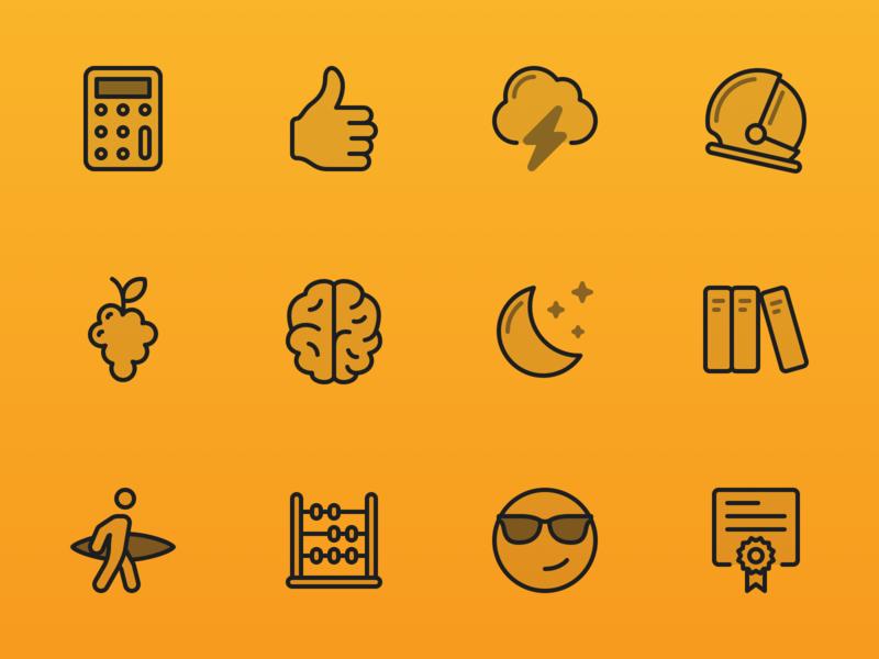 Focusplan Sticker Icons
