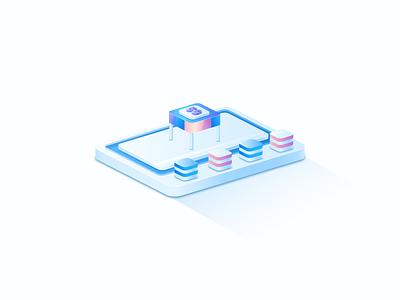 2.5d概念系列(二) ux illustration design uiux app ui 3d 抽象 插画 概念设计