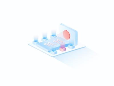 2.5D概念系列(三) uiux ui vector logo illustration app 3d 抽象 插画 概念设计