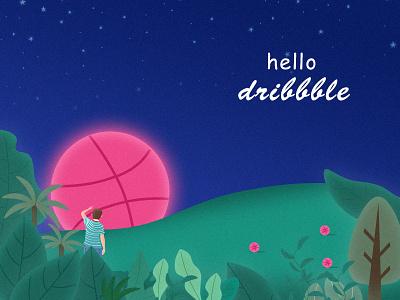 感谢这位Saroz Poddar邀请我 dribbble invite dribbble 概念设计 插画