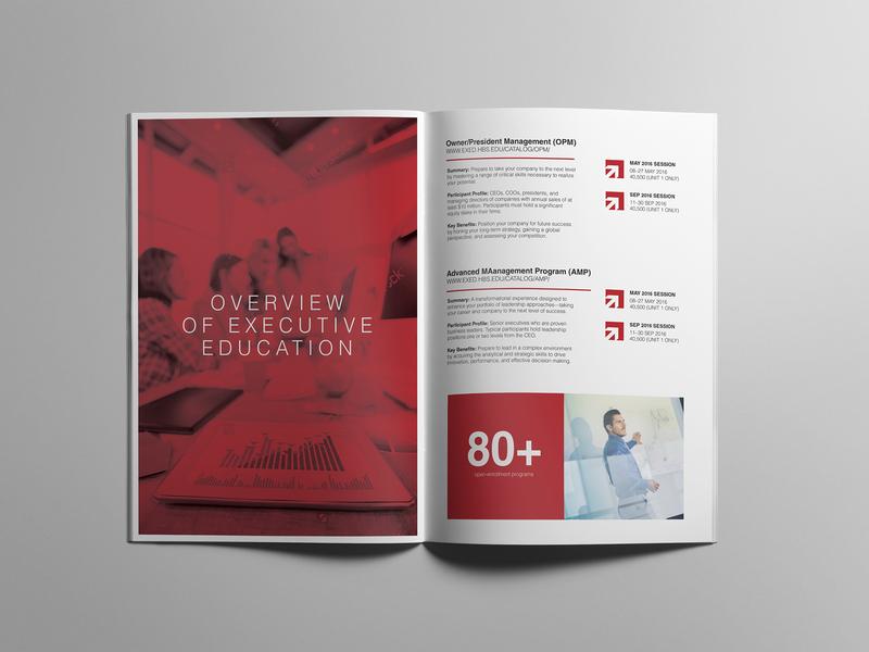 Australian National University Brochure branding youth modern brochure education brochure design concept typography booklet brochure design