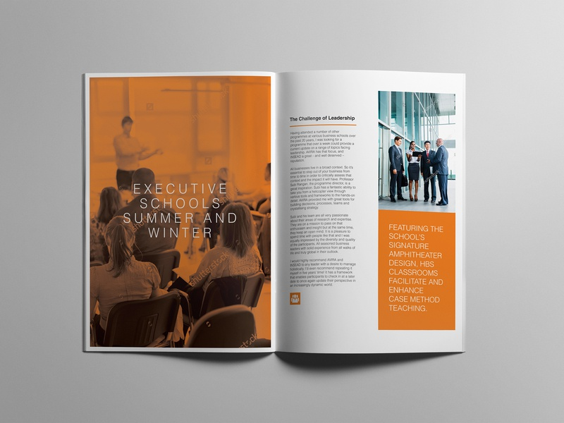Australian National University Brochure design concept modern brochure youth branding typography education brochure booklet brochure design