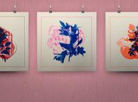Praeter Flores   Risograph prints