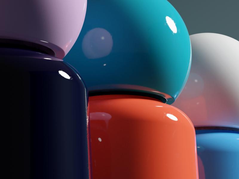 Look Closer blender3d bottles feedback pbr behance behance project 3dfordesigners rendering visual graphic cyclesrender blender 3d