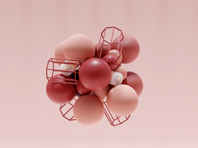 Rigid Body Cluster graphic cluster rigid bodies simulation bugs abstract shapes 3dfordesigners simulation rigid bodies blender blender 3d 3d lighting composition