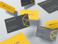 Comp Soc business cards mockup