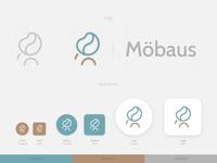 Furniture brand logo + app icons
