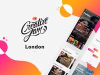 Screens from CreativeJam