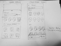 Wirefames sketches 02