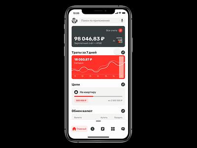 Mobile Banking App (Figma Smart Animate) uxdesign uidesign banking app animation ui uxui ux banking app fintech finance bank