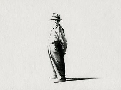 elderly graphite light figuredrawing contrast black  white illustration elderly draw