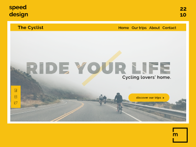 Interface design : Ride your life