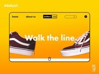 E-commerce site landing page