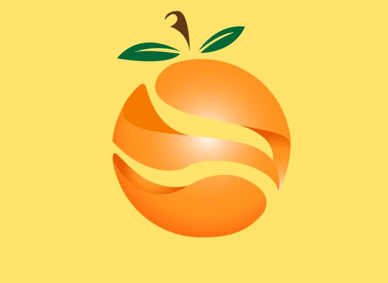 Orange - Illustrator icon ux adobe ui  ux logo lithuania ui design illustration ai orange