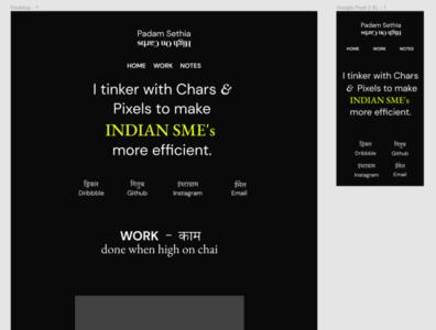Black Friday - Personal websiteSpecial web ux ui typography webdesign personal blog
