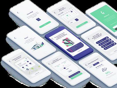 Green Butler app product branding ux ui
