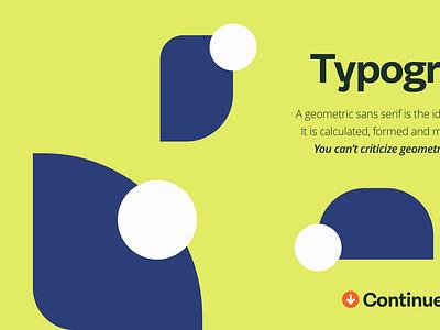 Typography design concept typogaphy