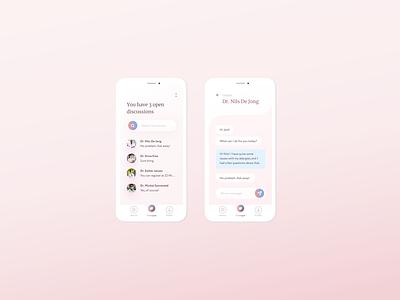 Speak with your Doctor Remotely design ui medical ux app design app