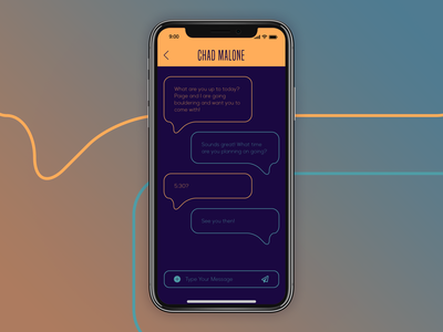 Direct Messaging [Daily UI / Day 013] 013 dailyui013 dailyui design
