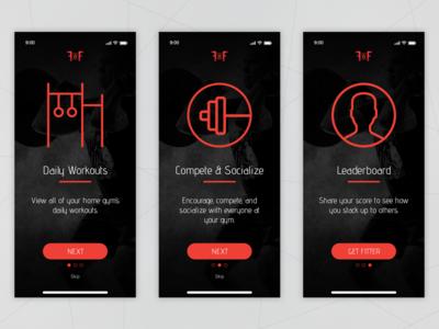 Onboarding [Daily UI / Day 023] app ui 023 dailyui023 dailyui design