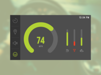 Car Interface [Daily UI / Day 034]