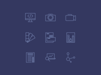 Icon Set [Daily UI / Day 055]
