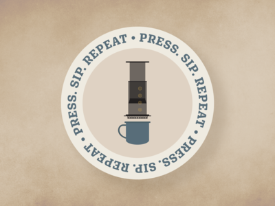 AeroPress Coaster