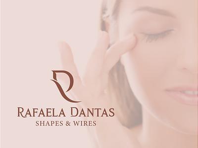 Rafaela Dantas l Branding logotipo micropigmentação eyebrow design branding logo