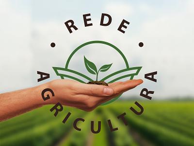 Rede Agricultura   Branding illustration logotipo logo design branding