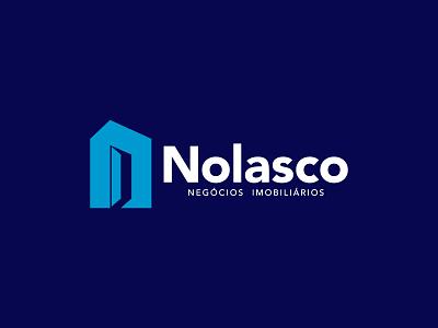 Nolasco   Branding realestatelogo realestate minimalism minimal creative branding design branding and identity design logotipo logo branding