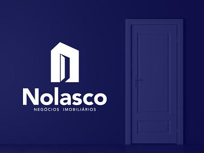 Nolasco   Branding realestatelogo realestate minimalism creative logo minimal branding design branding and identity design logotipo branding