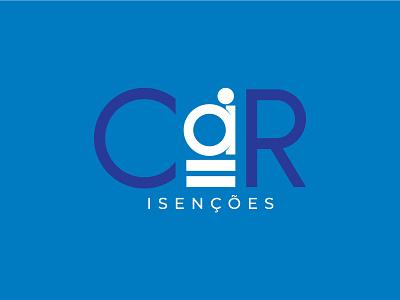 Car Isenções   Branding accessibility creative minimalism minimal branding design branding and identity design logotipo logo branding