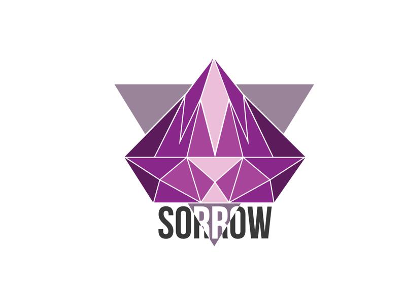 Misfit II sorrow purple clean misfit logo diamond