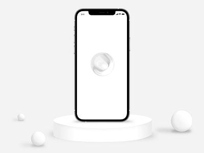 Virtual Assistant - Product design white clean design app design art 3d animation motion design animation uidesign ui uxui ux ai artificial intelligence product design ux design ui design