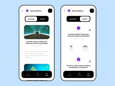 Discover innovative companies app white amazingui alerts news app app design app scoops newsfeed companies company ui clean product design ux design ui design