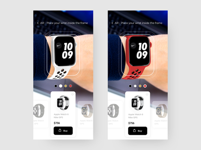 Virtual Assistant - AR Viewer purchase ecommerce app ecommerce apple watch watch mobile app virtual assistant artificial intelligence clean ui product design ux design ui design augmented reality augmentedreality