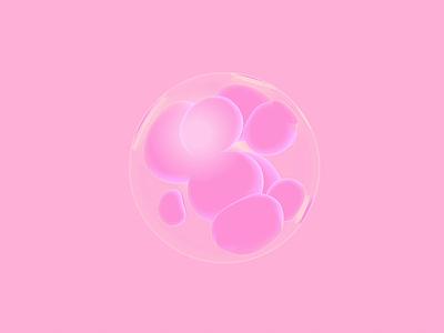Bubbles sphere cgi c4dart c4d 3d animation 3d modeling 3d artist 3d art 3d animation ui clean product design artificial intelligence pink ball balls bubbles spheres sphere