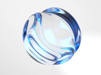 Sphere 🌀 3d motion spheres white artificial intelligence motion animation motion graphics glass c4d 3d animation 3d sphere mobile app mobile product product design