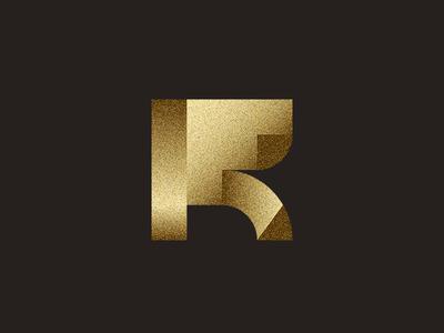 RF monogram monogram modern solid strong symbol minimalist abstract geometric