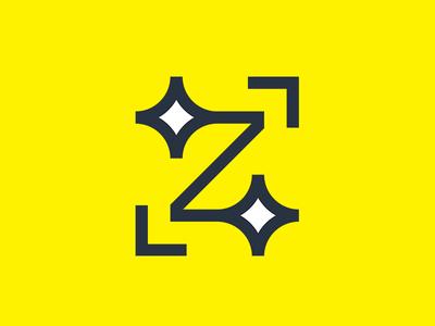 Z letter minimal modern strong symbol minimalist lines geometric