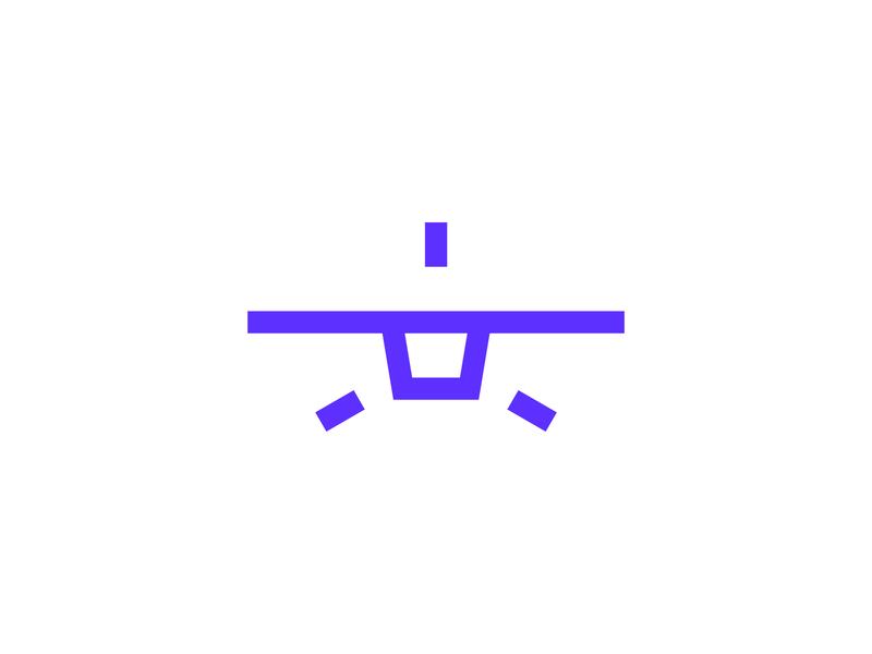 Minimal plane minimal modern strong symbol minimalist lines abstract geometric