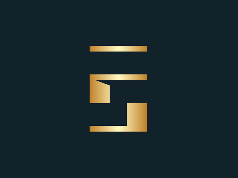 Abstract-minimal FS monogram fs monogram s letter f letter minimal monogram solid strong symbol minimalist abstract geometric