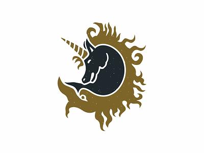 Abstract Horse unique legend witch magic pegasus unicorn horse identity animal brand sale logo